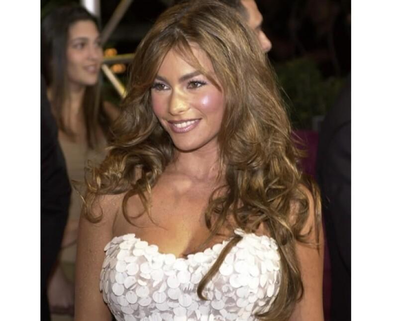 Al llegar a Hollywood, Sofía tuvo que pintarse el pelo para que le creyeran que era latina, su color natural es rubio.