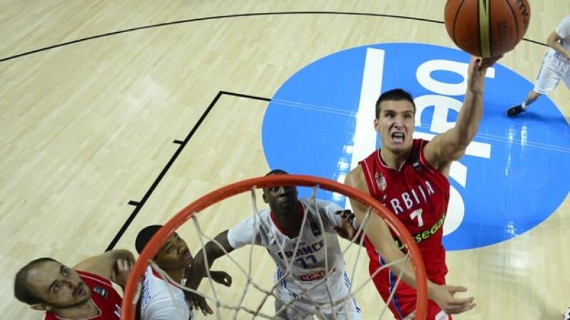 Serbia vs Francia mundial basquetbol