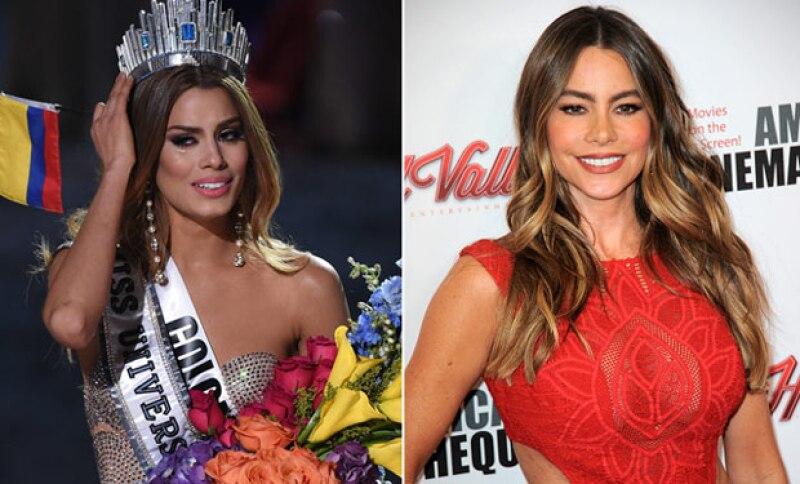 La joven colombiana cree firmemente que Sofía es mucho más guapa que ella, aunque se siente muy orgullosa de que las comparen.