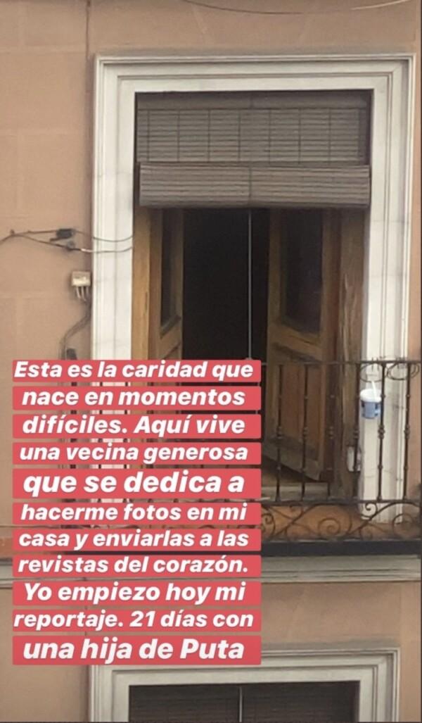 Instagram de Jaime Lorente