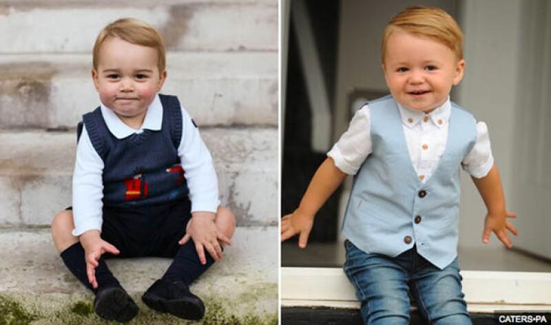 Cruz Bentley-Hodgkiss es el nombre del pequeño bebé que está acaparando miradas por su gran parecido con el royal baby.