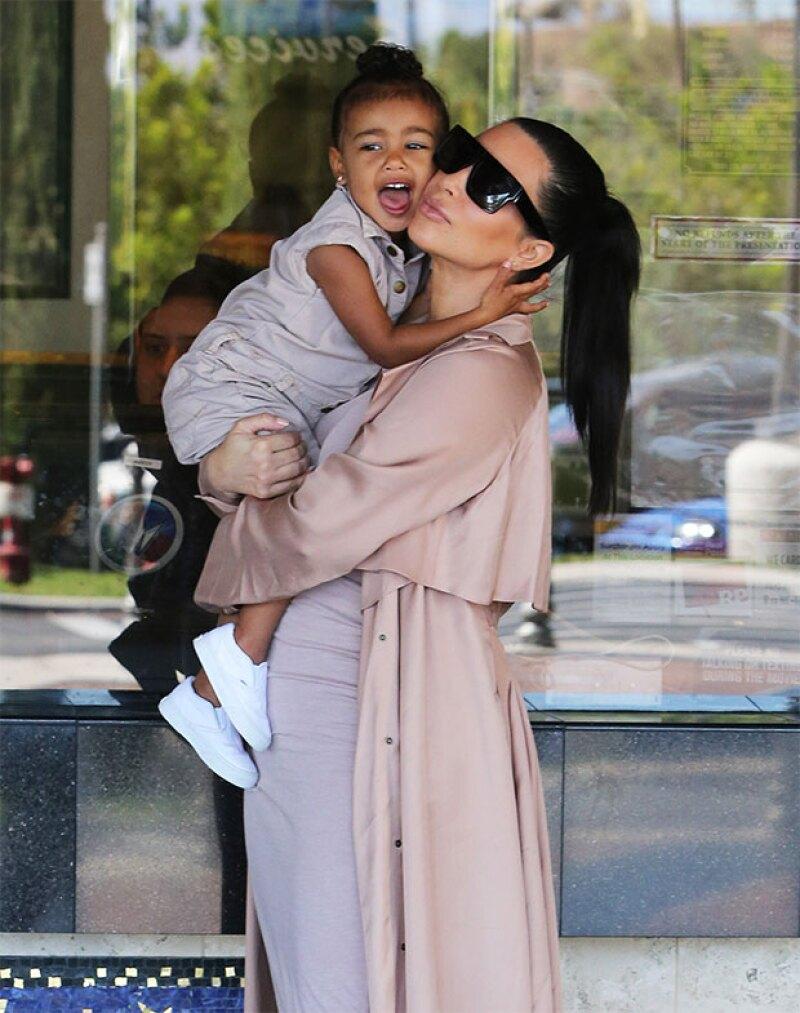 Kim y North disfrutaron del día juntas antes de que llegue el nuevo bebé.