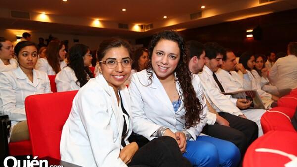 Norma Cortés y Paola Cisneros