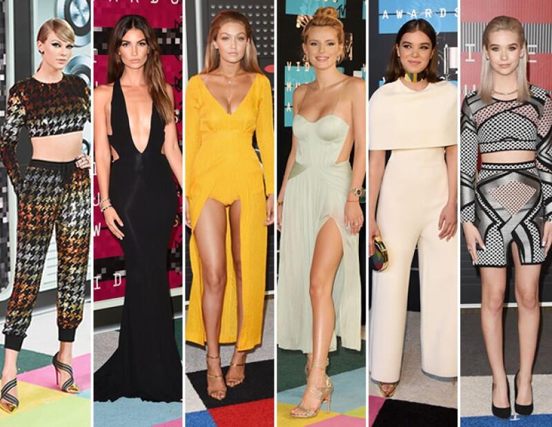 Los Video Music Awards de MTV son de los más importantes para la música y también para la moda. Mientras el look de Taylor fue uno de los mejores, Kim y Miley desilusionaron.