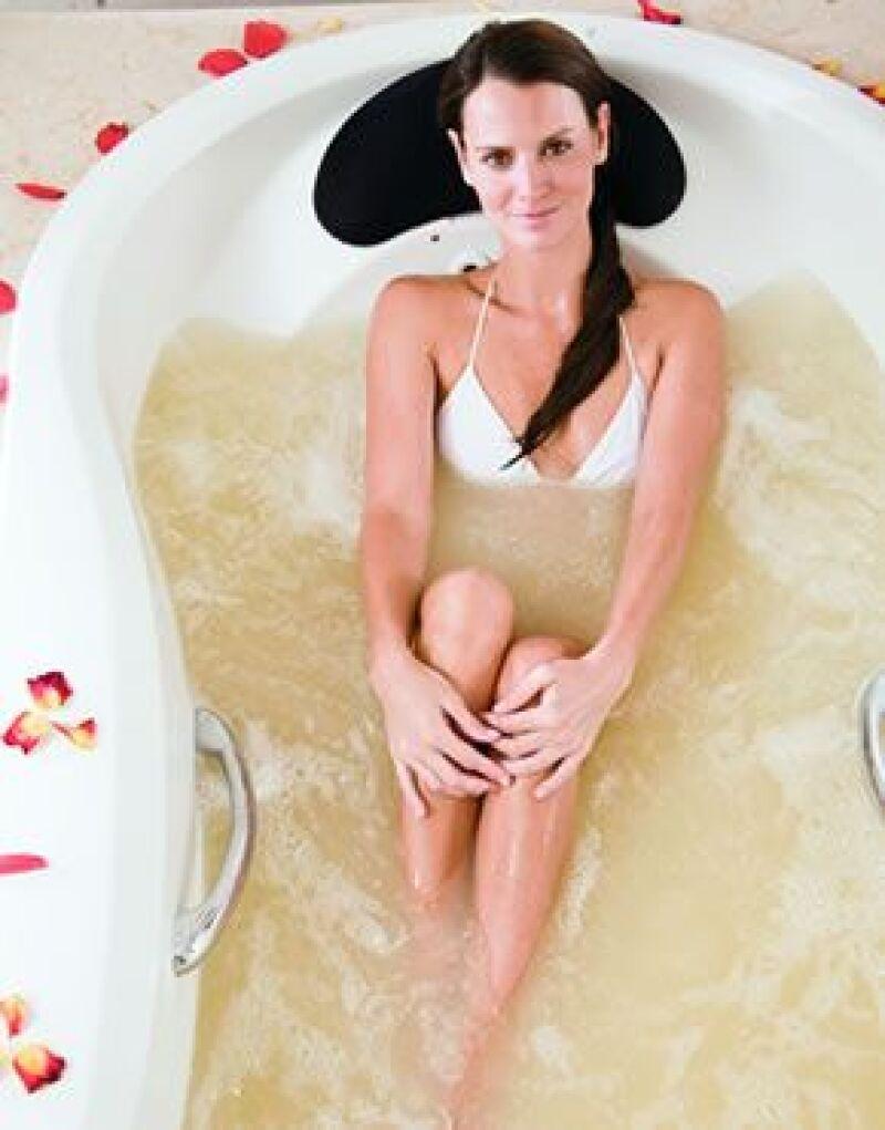 """Un verdadero """"baño de oro"""" para quienes quieren lo más exclusivo para su piel."""