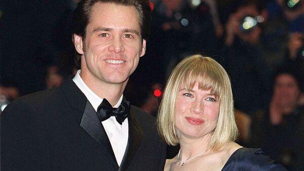 Jim Carrey y Renée Zellweger.
