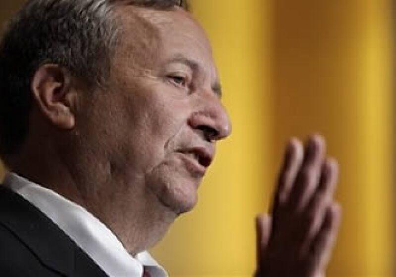 Lawrence Summers, principal asesor económico de la Casa Blanca, considera que no existe riesgo de una presión inflacionaria. (Foto: AP)