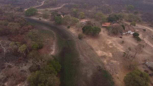Este paraíso de ecoturismo fue reducido a cenizas en el Pantanal brasileño