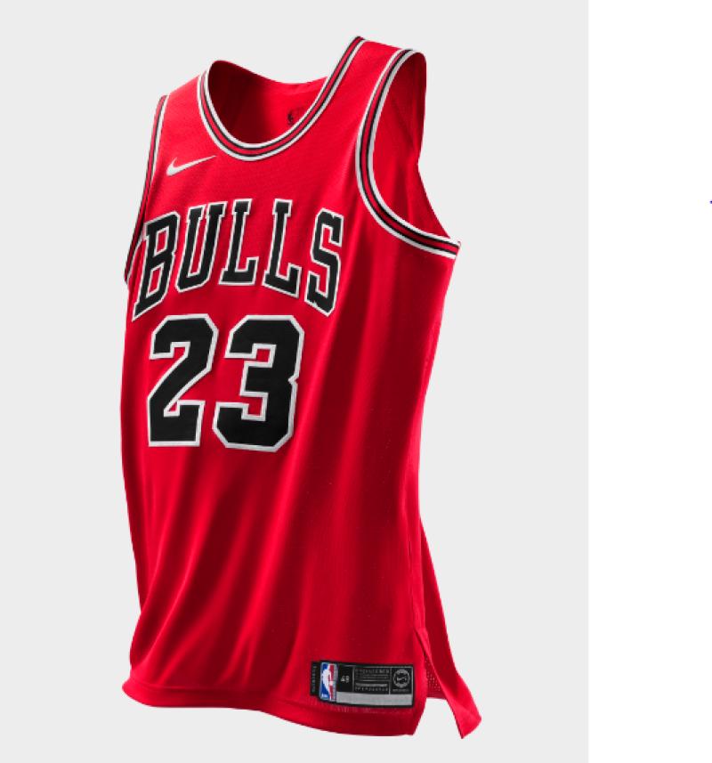 Jersey Chicago Bulls 2018