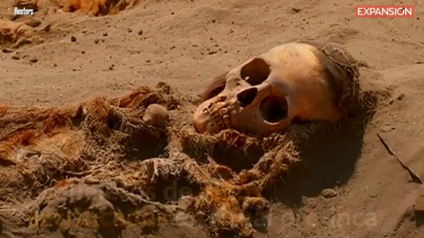 -REUTERS-Perú descubre esqueletos de niños sacrificados en ritual pre-inca