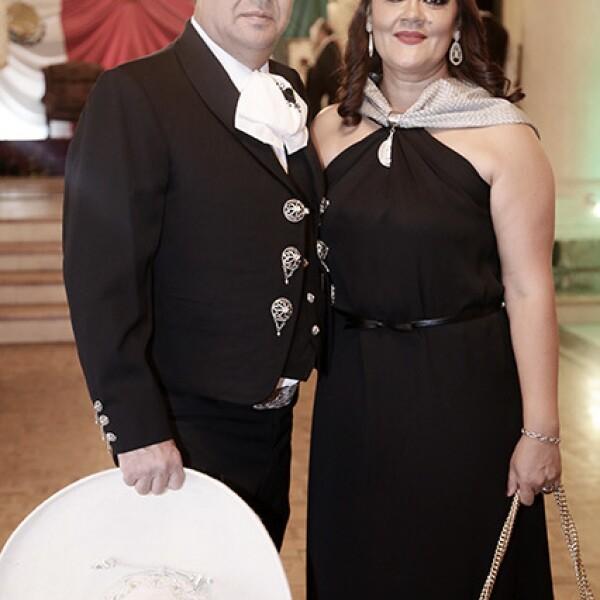 Carlos Bermúdez y Leticia Velasco