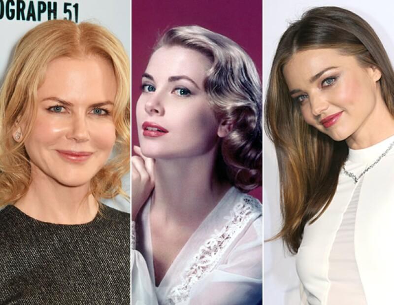 Además de ser hermosa, Grace Kelly tenía una piel perfecta. Nicole Kidman y Miranda Kerr también apuestan por piel cuidada hoy en día.