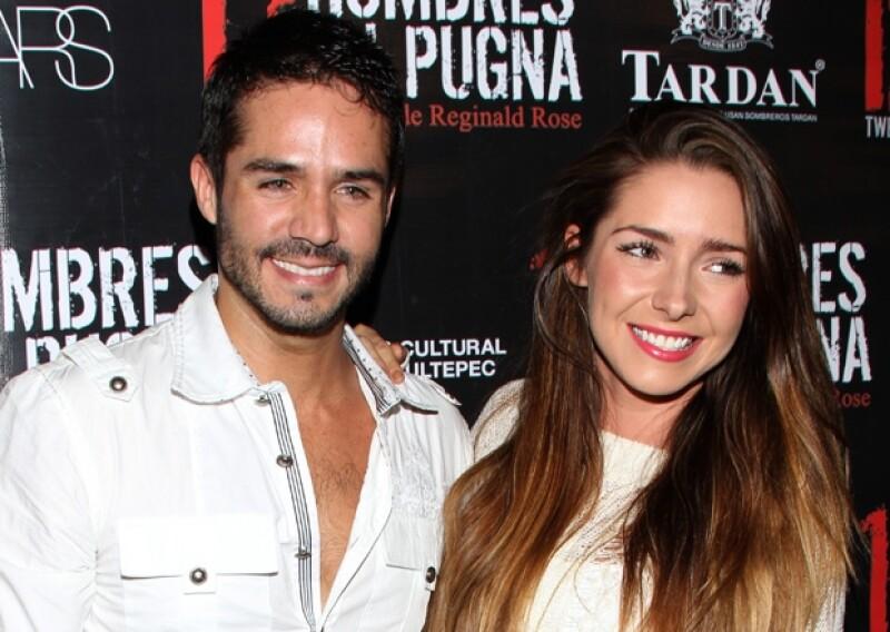Aunque no querían casarse ni tener hijos, José Ron y Ariadne Díaz parecían ser una muy feliz pareja.