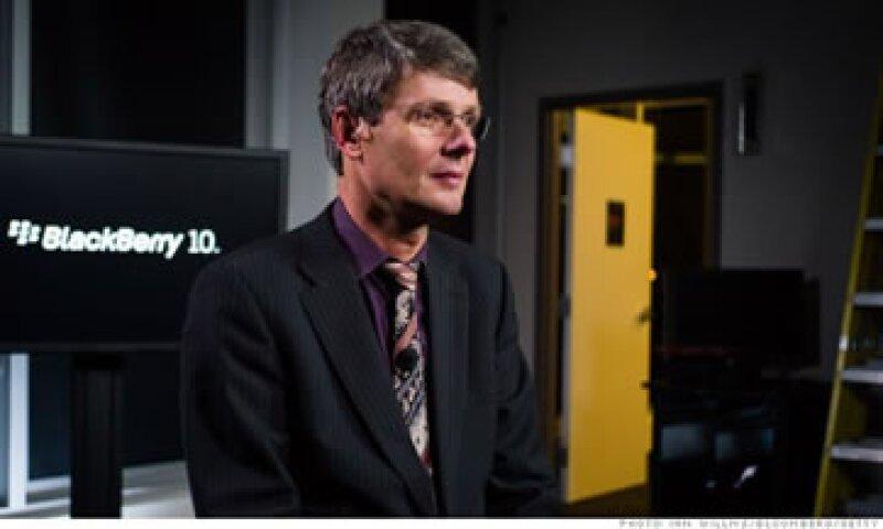 Cuando Heins se convirtió en CEO de BlackBerry la compañía estaba en una severa crisis.  (Foto: Cortesía Fortune)