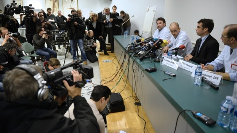 doctores piloto alemán Michael Schumacher lunes rueda de prensa