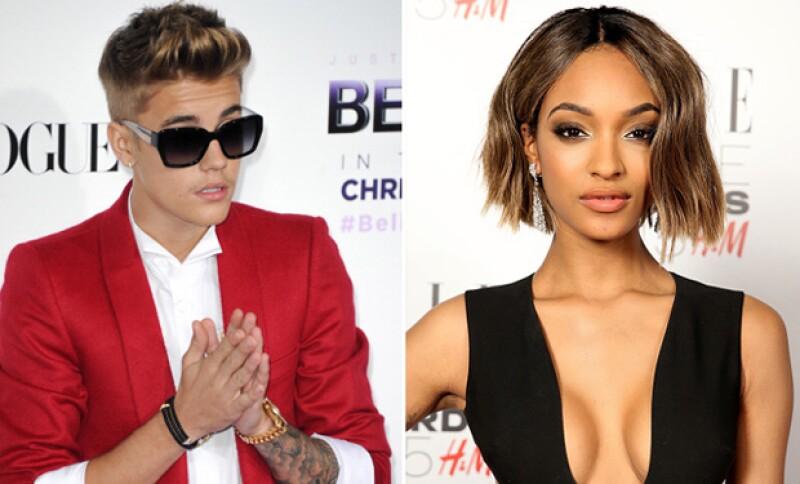 Justin alabó los senos de la supermodelo y eso hizo que ella se incomodase.