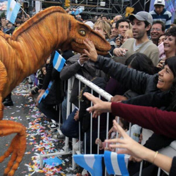 Argentina dinosaurio EFE