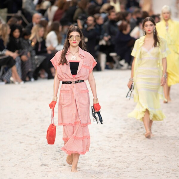 Chanel show, Runway, Spring Summer 2019, Paris Fashion Week, France - 02 Oct 2018