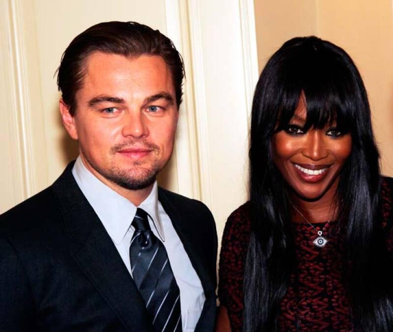 Leo y Naomi mantuvieron una relación justo antes de que él actuara en la famosa película Titanic.