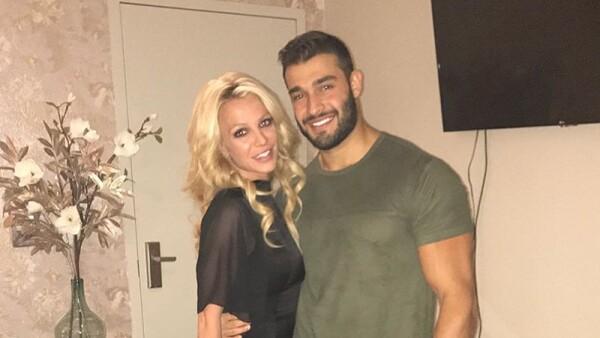 Britney Spears y Sam Ashgari
