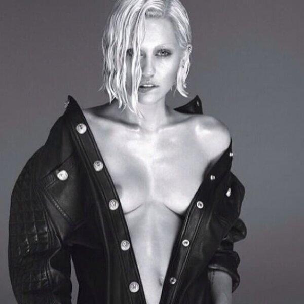 Miley enseñó de más con esta imagen.