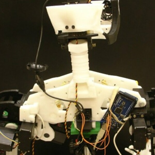 robot, casero, armar