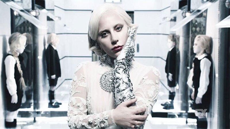 Lady Gaga está nominada por primera vez gracias a American Horror Story.