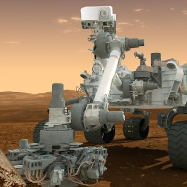 Curiosity rover Marte