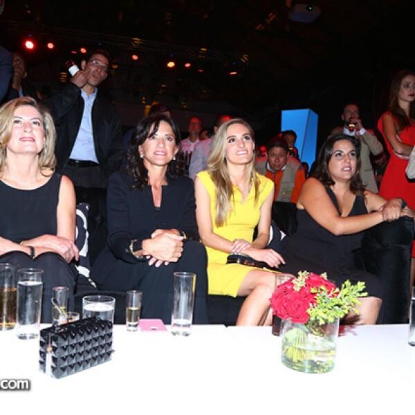 Georgina Escalona, Marcela Talancón, Christiane Dornbierer y Fernanda Saenz