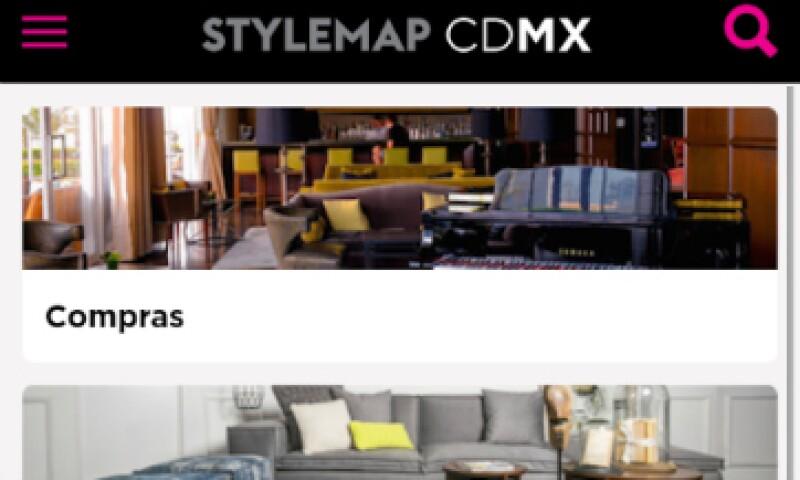 La app permite la interacción entre los usuarios. (Foto: Stylemap CDMX)
