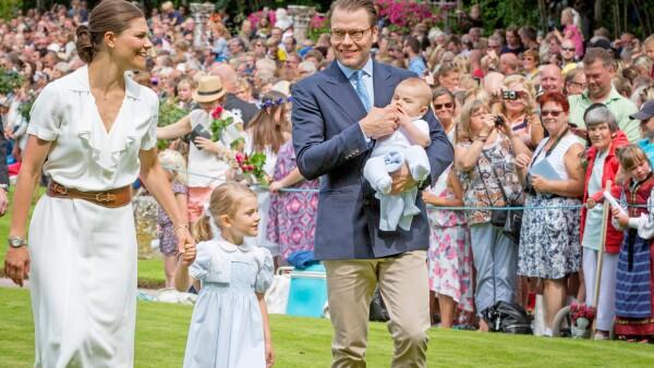 Familia real de Suecia, Victoria y Daniel