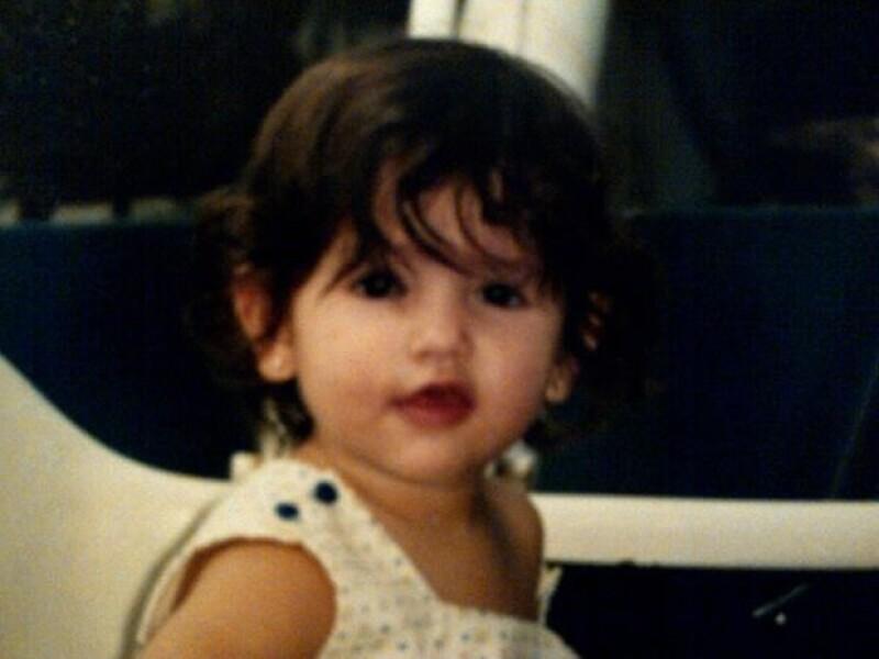 """Pepe Díaz subió esta foto de Eiza y escribió: """"Hace 22 años nació esta chimichanguitaaa!"""""""