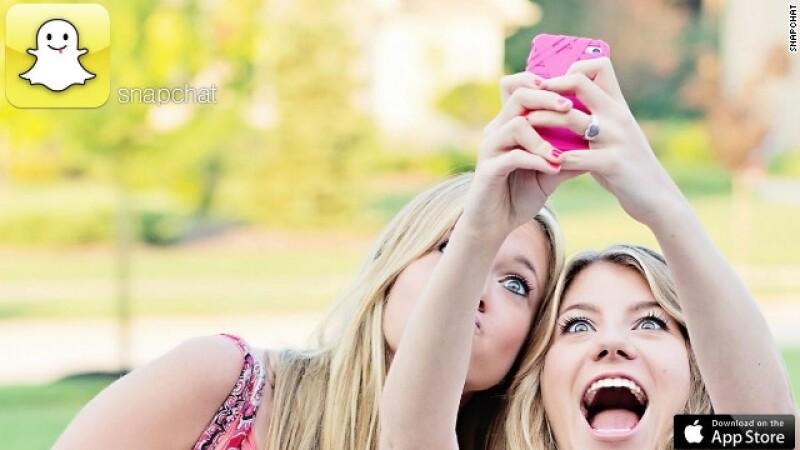 aplicacion Snapchat