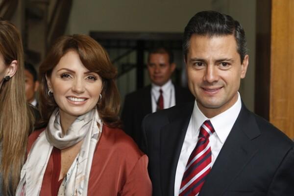 Angélica Rivera conoció a Peña Nieto en 2008.