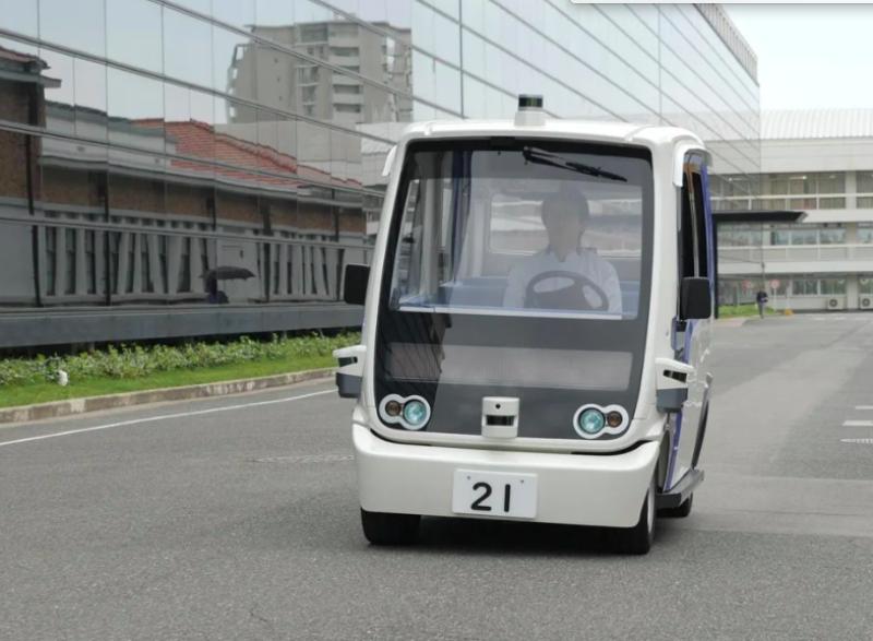 Vehículos autónomos Panasonic