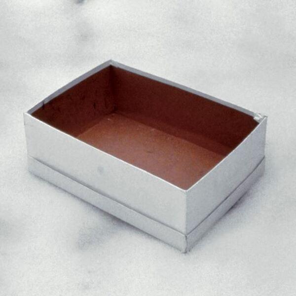 Caja de zapatos vacía