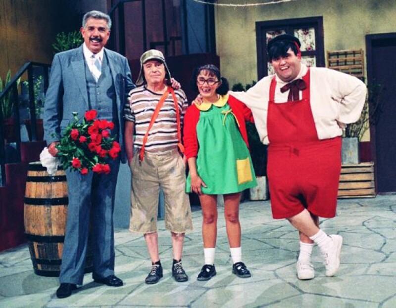 Fueron estos actores quienes acompañaron gran parte de su carrera al comediante.