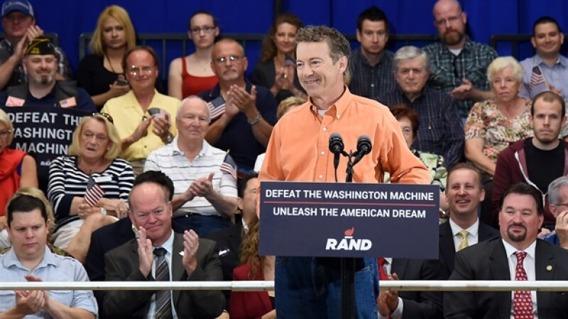 rand paul defeat the washington machine