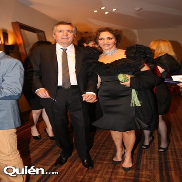 Jorge Vergara,Angélica Fuentes