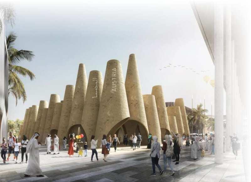 Expo Dubái 2020 - pabellón austriaco