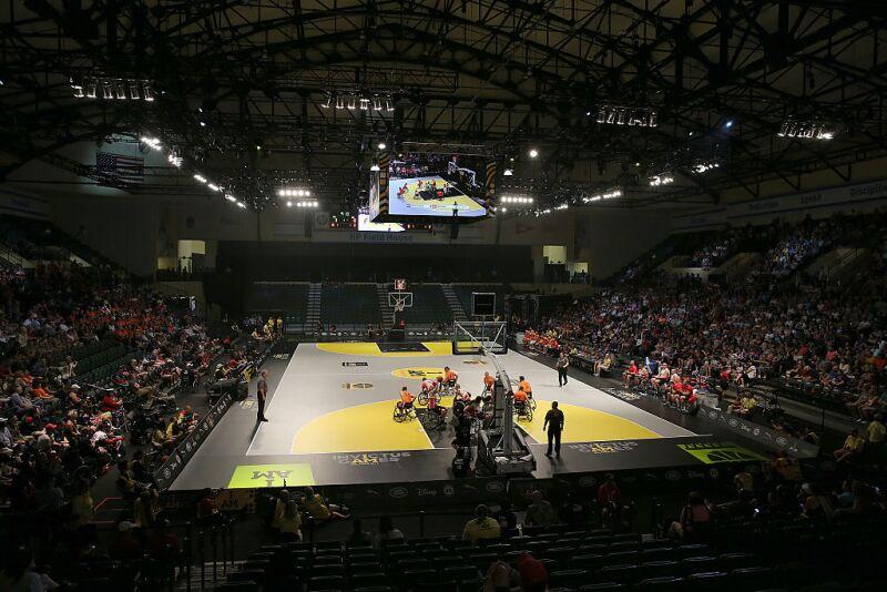 Invictus Games Orlando 2016 - Day 4 - Wheelchair Basketball Finals