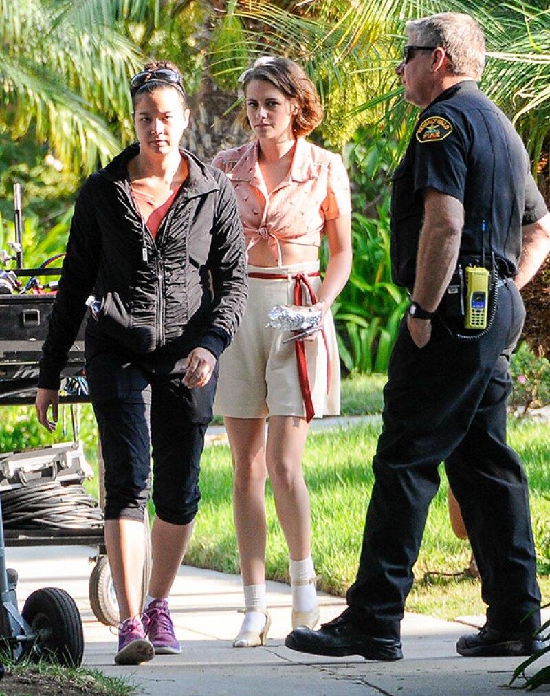 Kristen protagoniza la nueva película de Woody Allen.