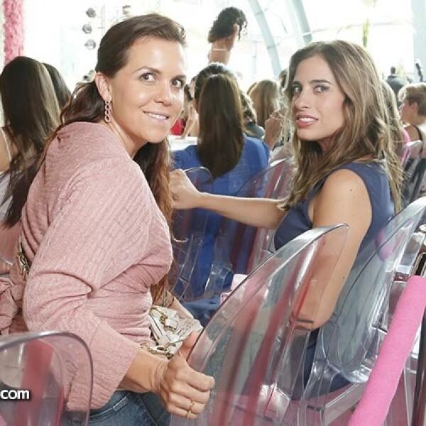 Mayte Arguelles y Talina Kiehnle