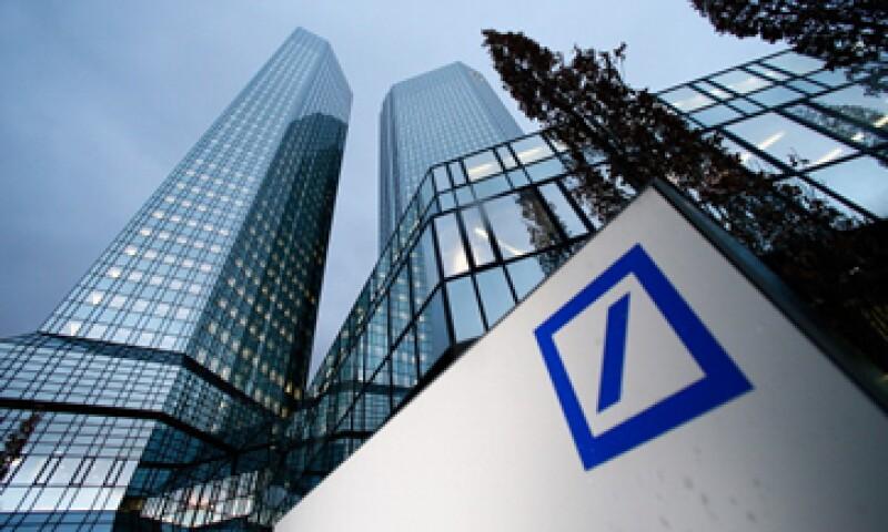 Deutsche Bank reportó resultados muy por debajo de las estimaciones de los analistas. (Foto: Getty Images)