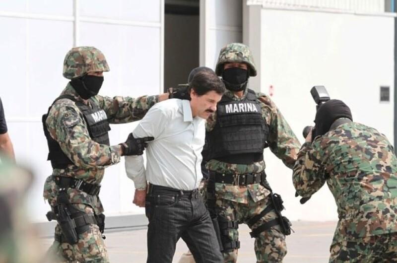 La captura del Chapo Guzmán conmocionó a los medios.