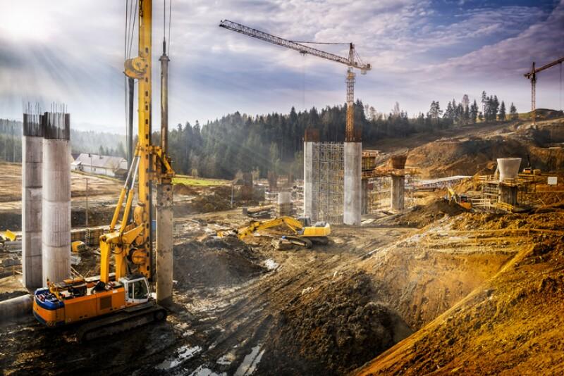 construcción de carreteras