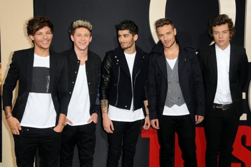 Liam, Harry, Niall, Zayn y Louise ocupan el primer lugar de la lista de menores de 30 años con más ingresos, lograron desplazar a Daniel Radcliffe.