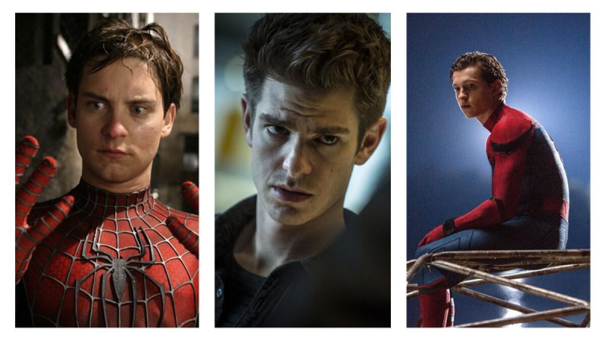 Tom Holland quiere una reunión de los tres 'Spider-Man'