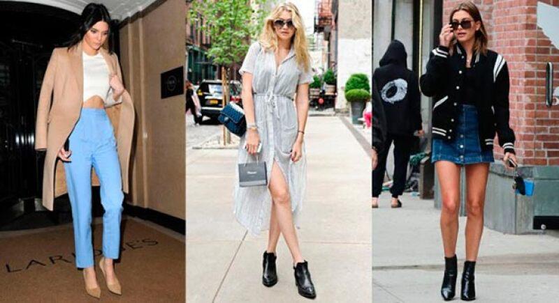 Aprovechamos que han llegado los esperados descuentos para explicarte la fórmula para copiar los looks de Kendall Jenner, Hailey Baldwin y Gigi Hadid.