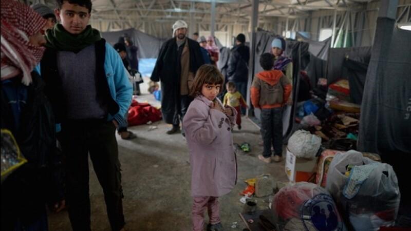 refugiados, siria
